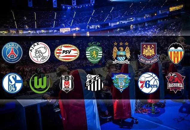 Profesyonel spor takımları E-Spor'un farkında.