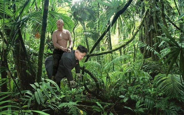 23 Things That Russian President Vladimir Putin Is Riding