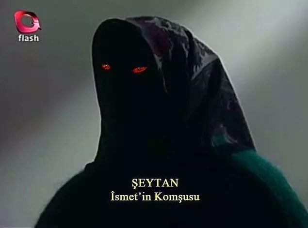 En çok benzeyeni de Gerçek Kesit'teki şu Şeytan olabilir 😂
