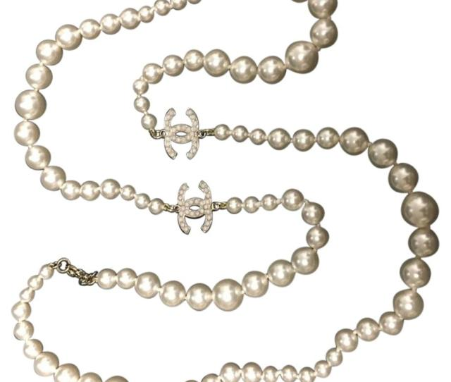 Chanel Chanel Icon Is Pearl Cc Necklace
