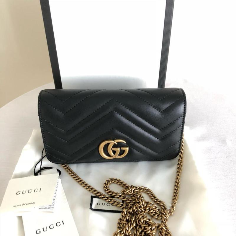 fa59cc0458b ... Gg Mini Black Lear Shoulder Bag Tradesy. Fullsize Of Gucci Marmont Mini  Large Of Gucci Marmont Mini ...