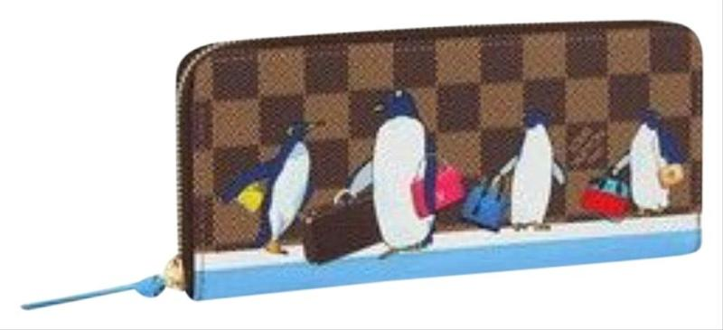 0d7da66f32b5 Louis Vuitton Clemence Penguin Christmas 2017 Wallet Tradesy