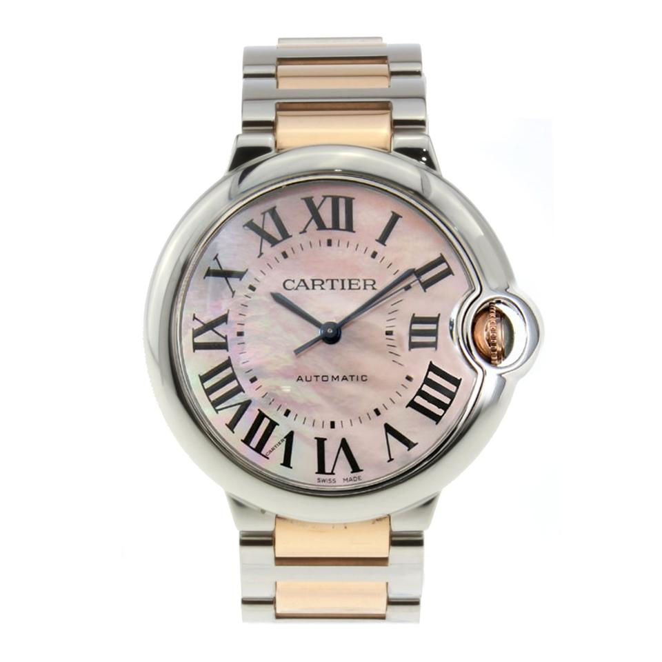cartier stainless steel ballon
