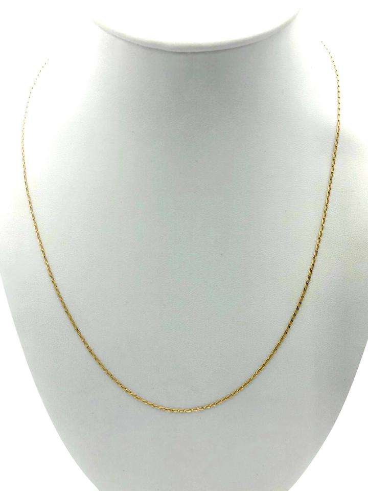 18k yellow gold linked