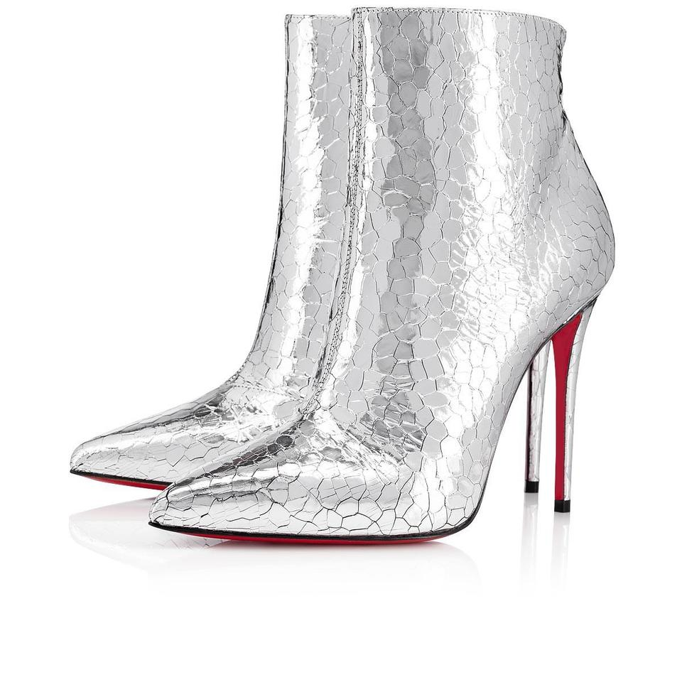 christian louboutin silver so