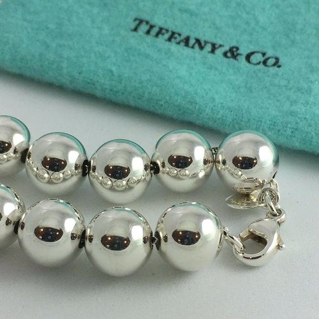 Tiffany & Co. T&co. Large Bead Sterling Silver 7.5