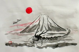 ink japanese painting sumi culture teacher