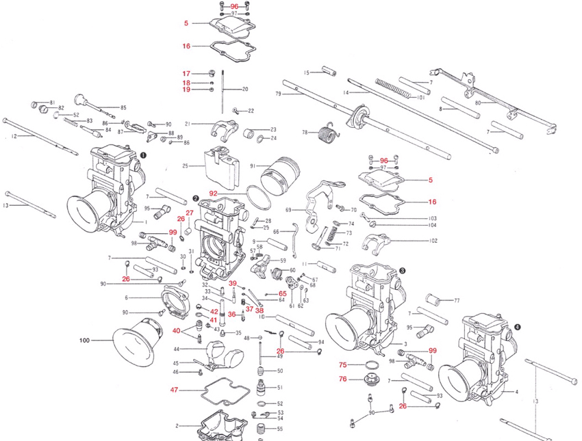 Mikuni : TMR Carburetor Owners Manual [775-000-1000]