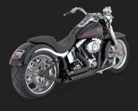 VANCE&HINES : Shortshots Staggered Black Full Exhaust ...