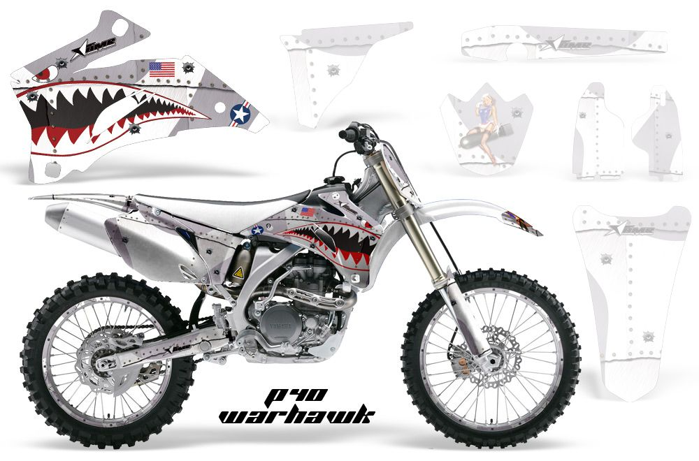AMR : AMR Graphic Decal (Shroud Kit) [AMR-WH-S-DR-Z400SM]