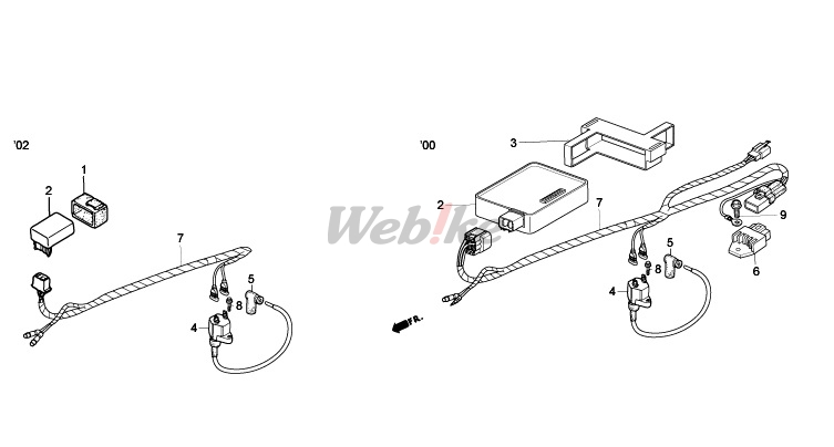 HRC : Wire Harness [H32100NLA700]