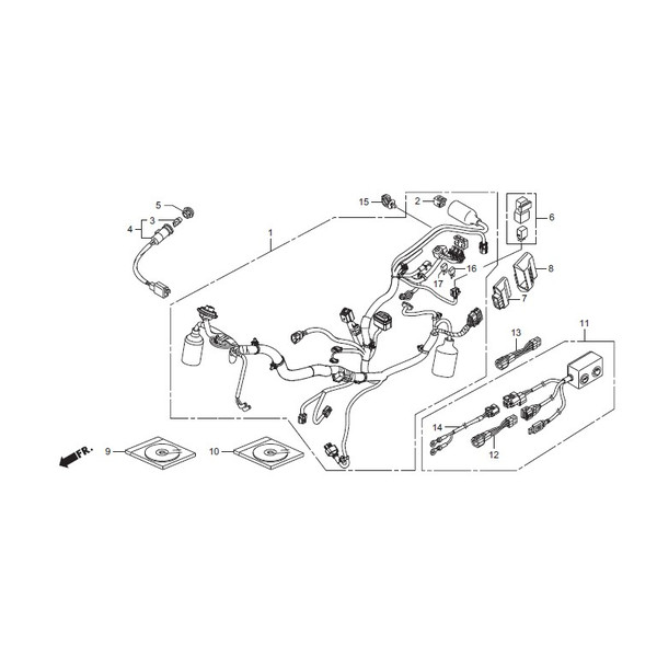 HRC : Unit COMP PGM-FI/IGN [H38770K26R01]