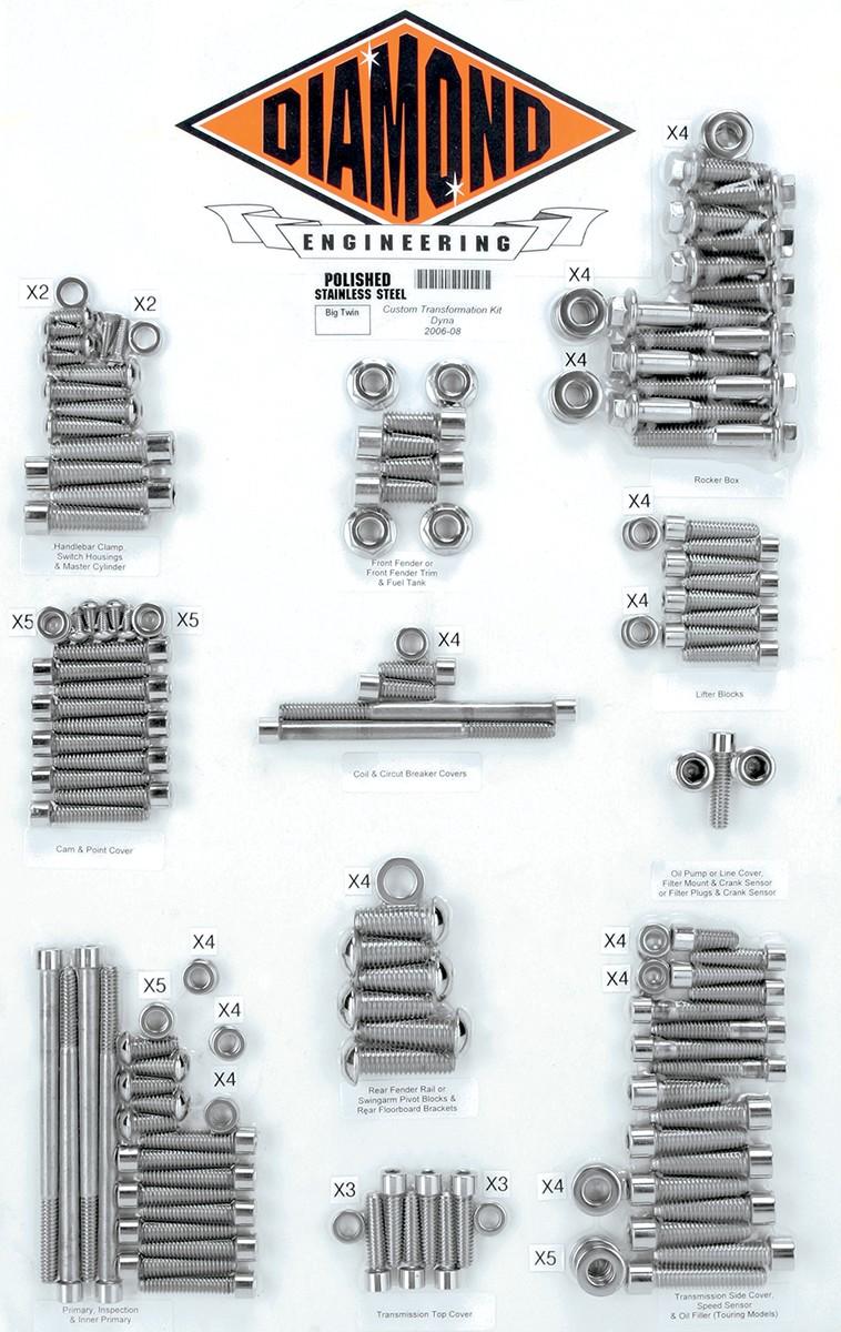 hight resolution of bolt kit trnsfrm 06 dyna 2401 0219 spacer