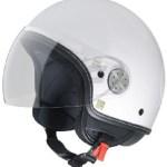 Vespa Helmet Vespa White Black Visor 2 0 605925m01w