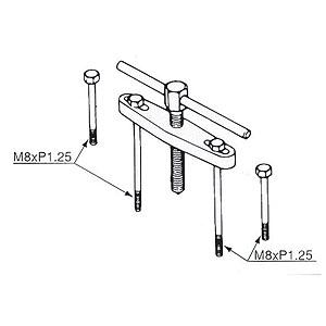 YAMAHA : YAMAHA OEM Crankcase Separating Tool [908900113500]