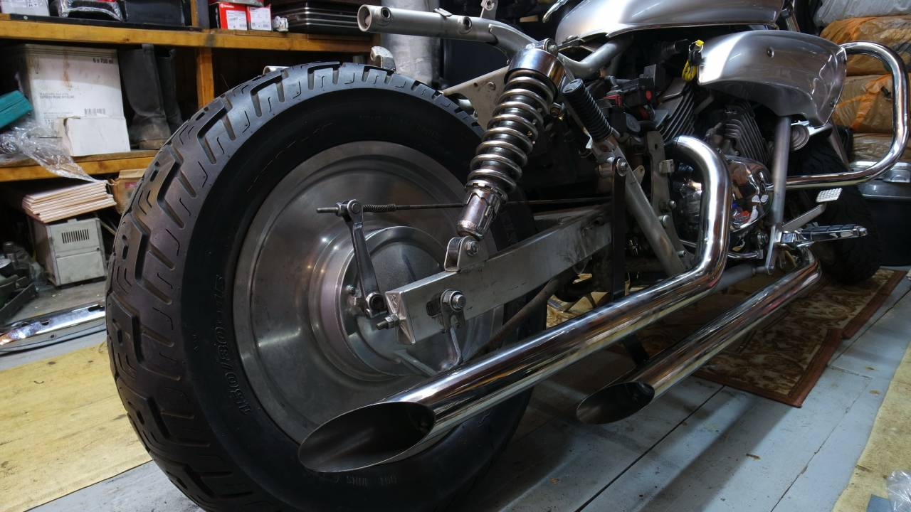 drag pipe exhaust type 1