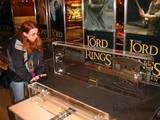 LOTR Props Display at Toys R Us in Times Square