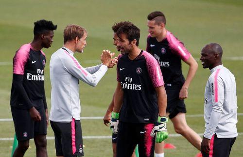 Buffon dan Tim PSG