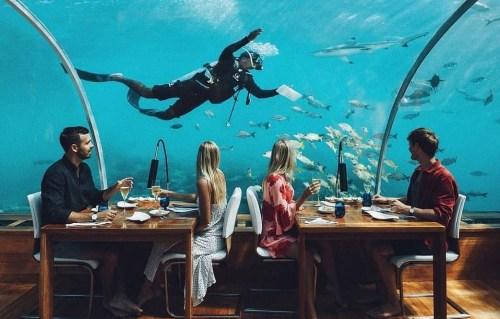 Ithaa Undersea Restaurant (IG)