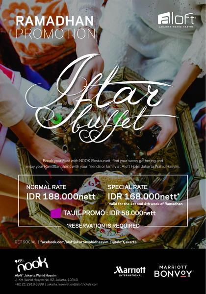 Paket Buka Puasa Di Hotel Jakarta 2019 : paket, puasa, hotel, jakarta, Berbuka, Hotel, Bintang, Aloft, Jakarta, Tawarkan, Paket, Spesial, Bulan, Ramadhan, Okezone, Lifestyle
