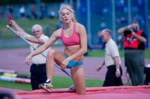 Melanie Adams jadi atlet perempuan dengan paras cantik dan menawan