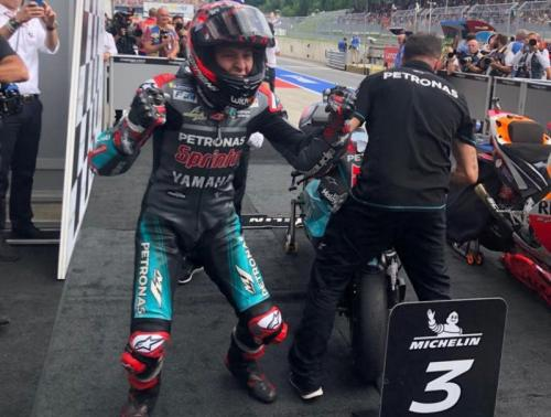 Fabio Quartararo bisa jadi ancaman Marquez dan Dovizioso di paruh kedua MotoGP 2019