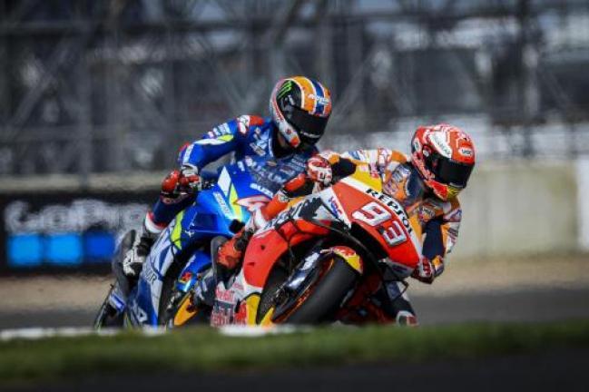 Marc Marquez dan Alex Rins