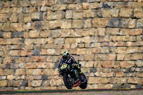 Valentino Rossi tak pernah beruntung di Aragon (Foto: Yamaha MotoGP)