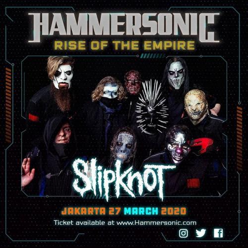 Slipknot dipastikan tampil dalam gelaran Hammersonic 2020. (Foto: Instagram/@hammersonicfest)