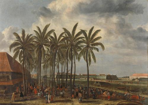 Lukisan Kastil Batavia (foto: Wikipedia)