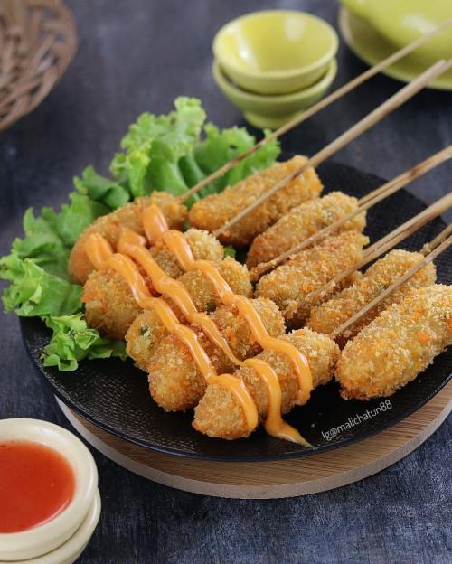 Sempol Ayam Resep : sempol, resep, Sempol, Crispy,, Cocok, Banget, Ngemil, Okezone, Lifestyle