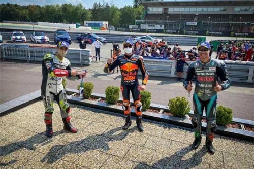 Para peraih podium di MotoGP Republik Ceko 2020