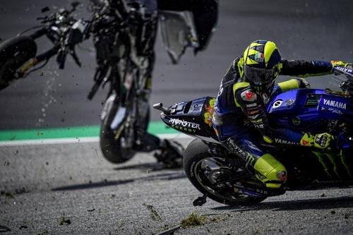 Rossi selamat dari insiden horor di MotoGP Austria 2020