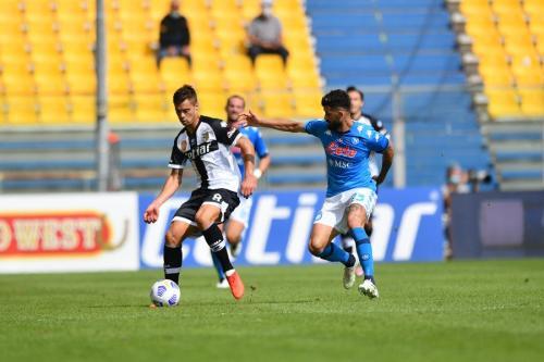 Parma vs Napoli (Foto: Twitter/@en_sscnapoli)