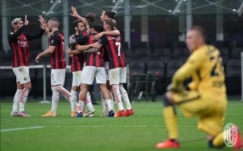 AC Milan bangkit di paruh kedua 2020 (Foto: AC Milan)