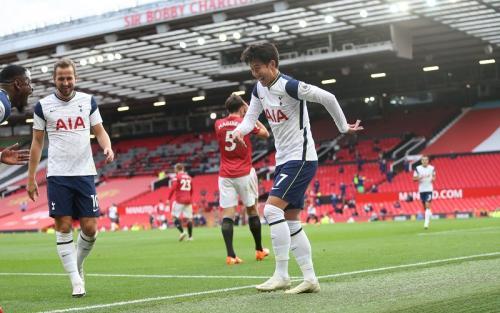 Momen Man United dipermalukan Tottenham