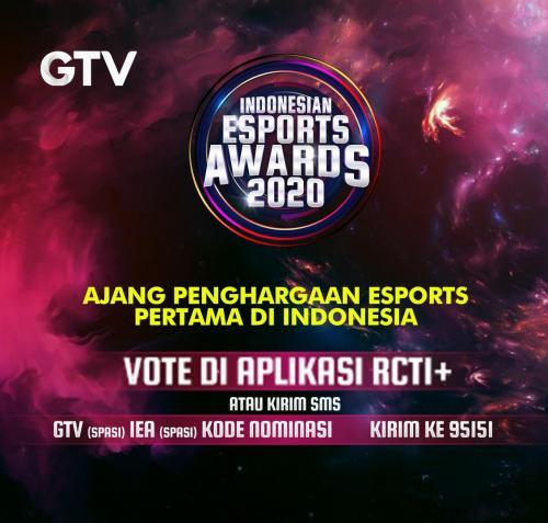 Indonesia Esports Awards GTV