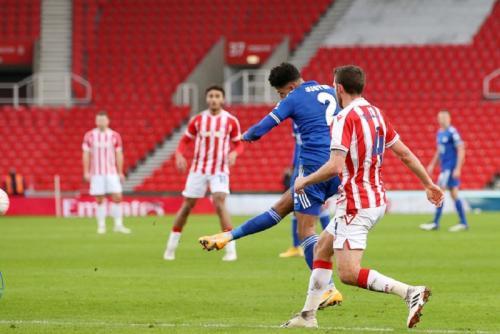 Stoke City vs Leicester City (Foto: Twitter/@LCFC)