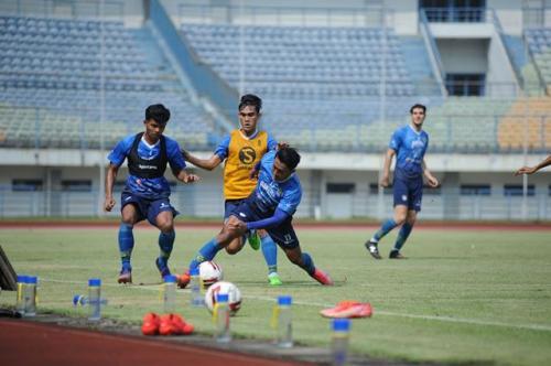 Persib Bandung latihan (Foto: Persib Bandung)