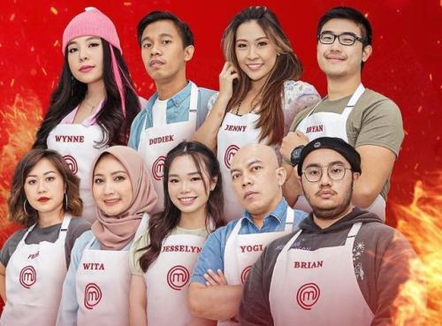 Sebanyak 18 peserta masuk Gallery MasterChef Indonesia Season 8. (Foto: Instagram @masterchefina)