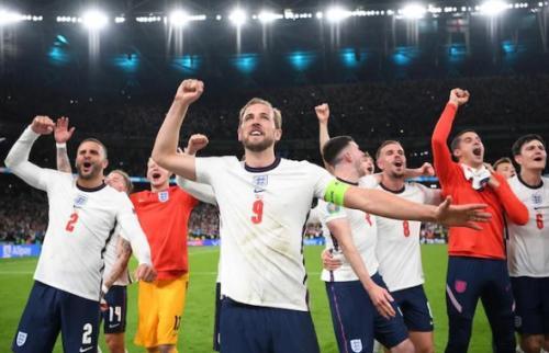 Timnas Inggris vs Denmark