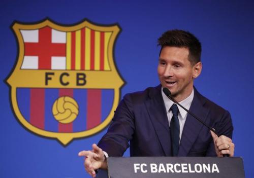 Lionel Messi segera gabung PSG (Foto: Reuters)