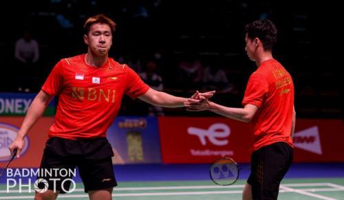 Marcus Fernaldi Gideon/Kevin Sanjaya Sukamuljo (Foto: Badminton Photo)
