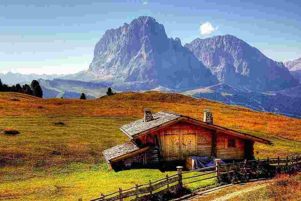 Typowe przepisy Trentino Południowego Tyrolu