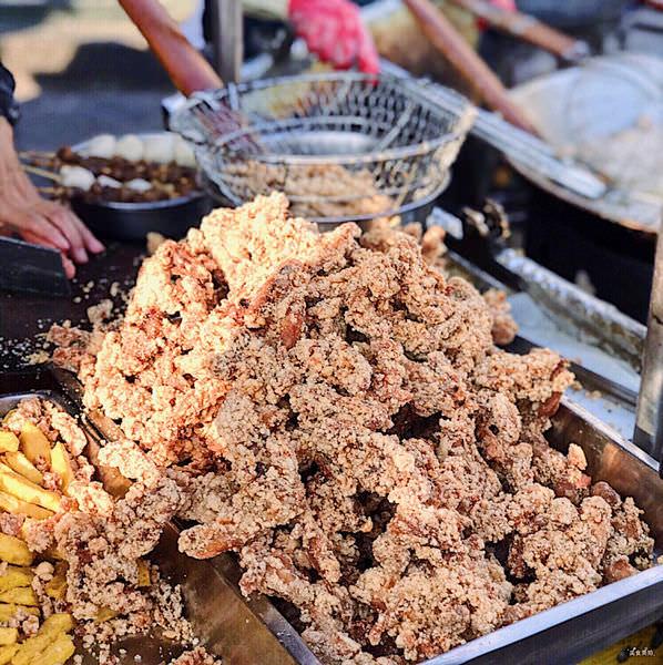 (台南)中洲寮保安宮前鹹酥雞