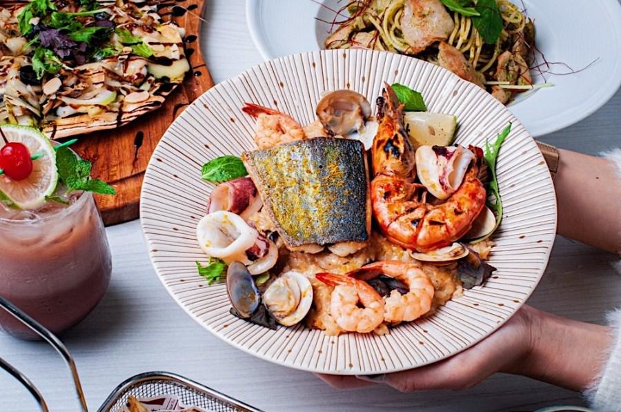 (台南美食/中西區)瘋狂小河Rio Loco餐酒館,塗鴨時尚美學裝潢,義式創意美味料理!適合約會、聚餐的好地方 !