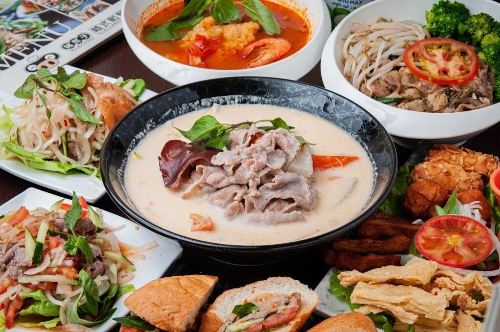 (台南美食/北區)【豬鼻子越式創意料理】餐點選擇多樣化,價格平實又美味!臨近台南好市多。
