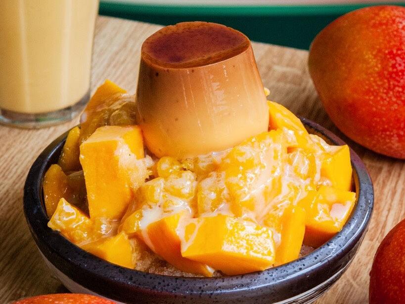 (台南美食/中西區)【農專蔬果汁】在地老店用料實在,盛夏芒果布丁牛奶冰開賣 ! 滿滿一碗太超值!