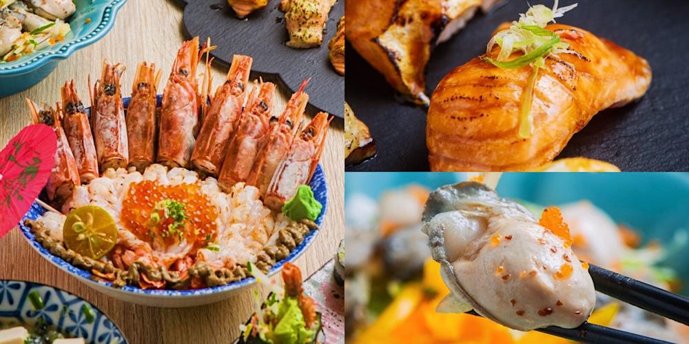 爽吃天使紅蝦軍團丼、鮭魚通通有拼盤,台南日式料理【舞壽司】新開幕!好吃推薦!