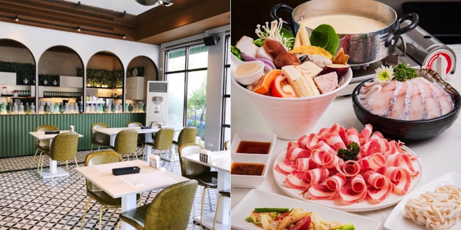 (台南美食/北區)【鳳樲二】一間高質感複合式餐廳,想吃火鍋、義式料理、精緻簡餐這裡通通都有~法式優雅的用餐環境,是聚餐約會的好選擇!